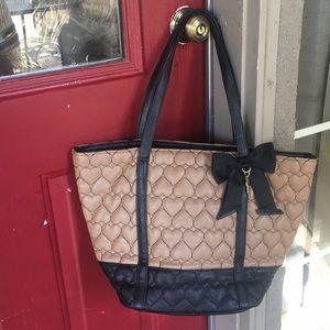 Betsey hohnson purse used twice